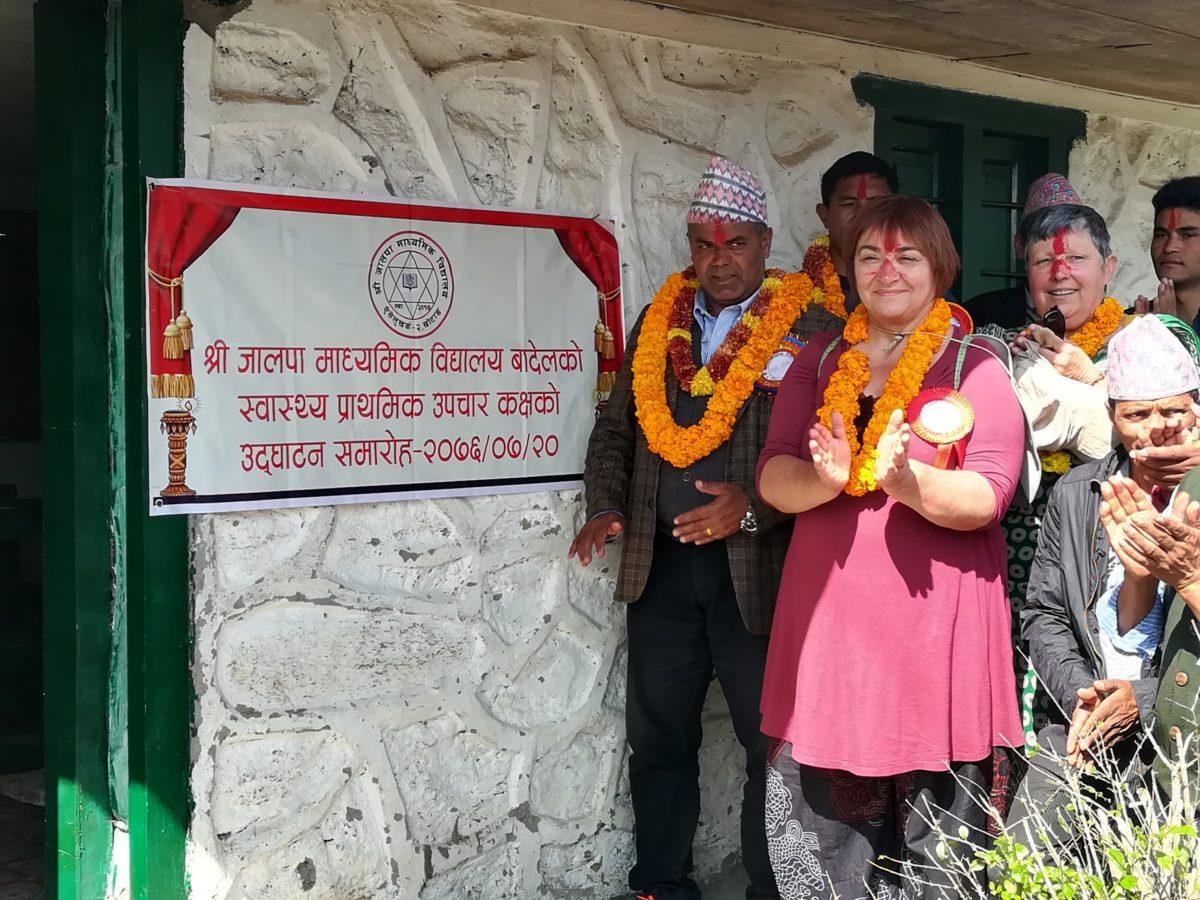 Inauguration du Centre de Soins